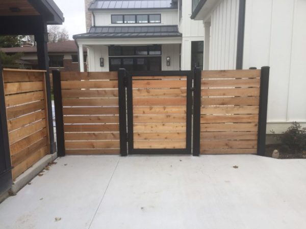 wood fence gate toronto