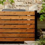 semi privacy wood fence toronto