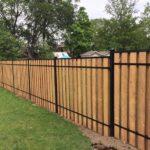wood fence markham