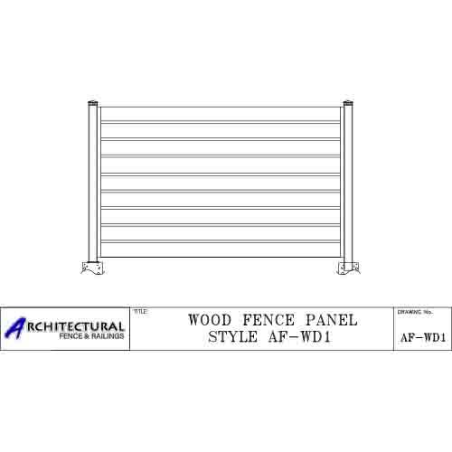 wood fence panels toronto