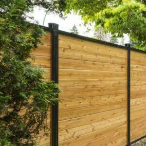 aluminum wood fence toronto