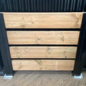 wood fence brampton