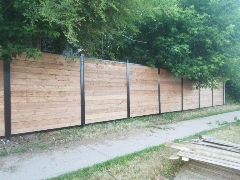 wood fence woodbridge